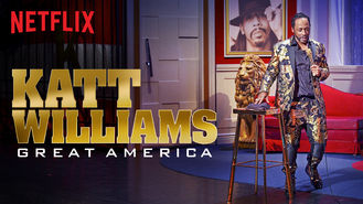 Netflix box art for Katt Williams: Great America