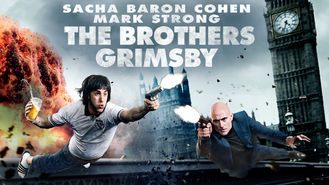 Netflix box art for The Brothers Grimsby